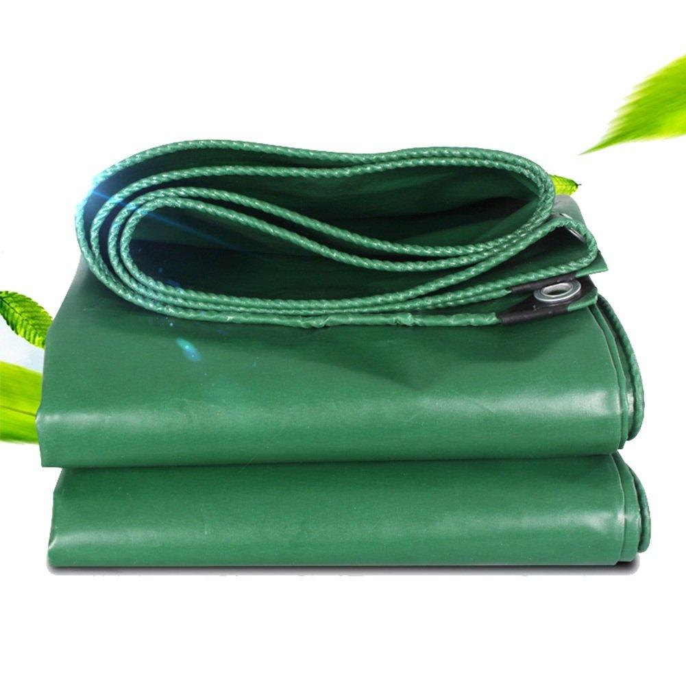 CHAOXIANG オーニング 厚い 両面 防水 日焼け止め 耐高温性 耐寒性 耐食性 軽量 耐摩耗性 ポリエステルフィラメント 緑、 520g/m 2、 厚さ 0.44mm、 12サイズ (色 : 緑, サイズ さいず : 2x2m) B07DBPLZ9J 2x2m|緑 緑 2x2m