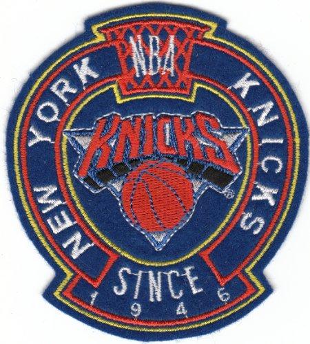 - Vintage 1980s NBA New York NY Knicks Since 1946 3 7/8 Inch Logo Patch (Sew On)