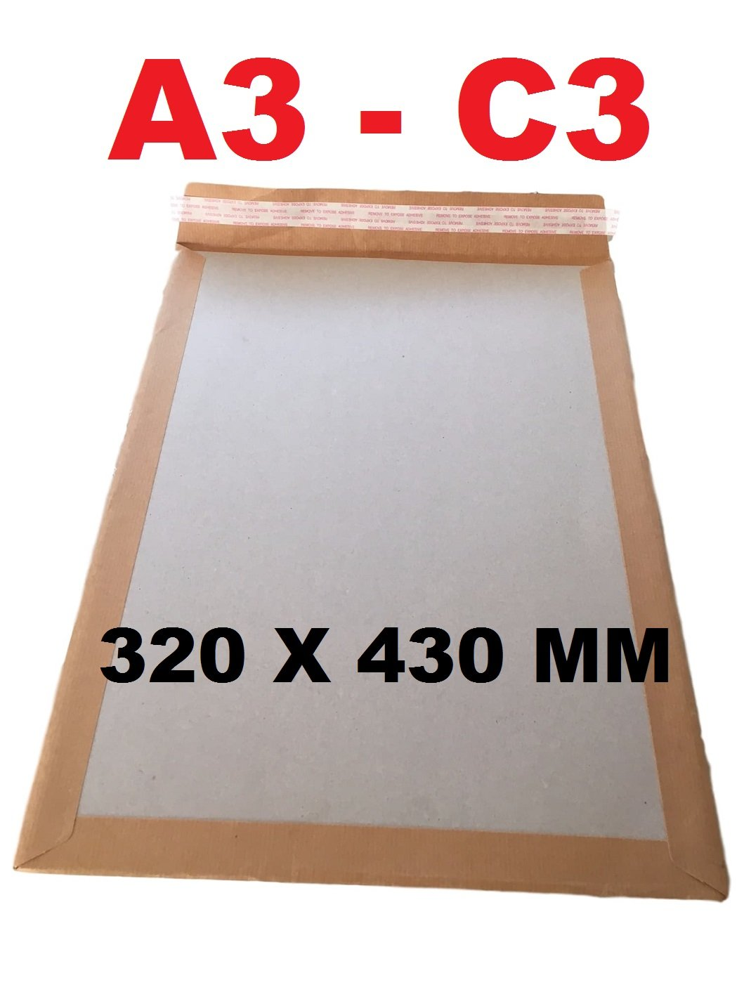 DIN A3, 309 x 447, hasta 30 mm de grosor, 25 unidades, cart/ón Sobre de env/ío, progressPACK V04.07 color marr/ón