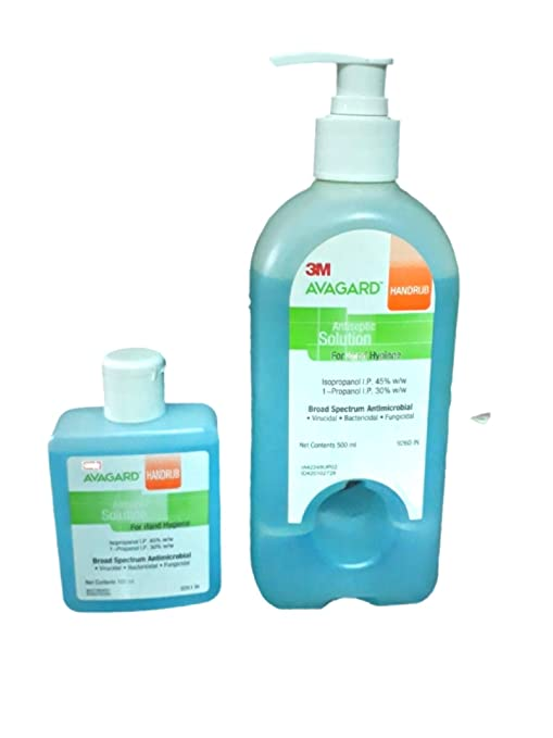 Buy 3m Avagard 500ml Blue Get 100ml Bott Free Online At Low