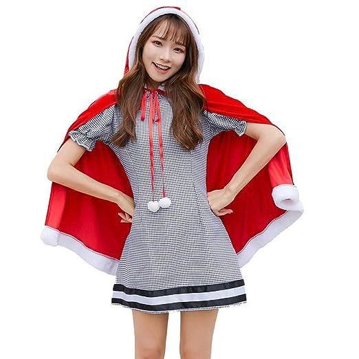 OUYAWEI Disfraz de Navidad Bola Princesa Vestido Invierno ...