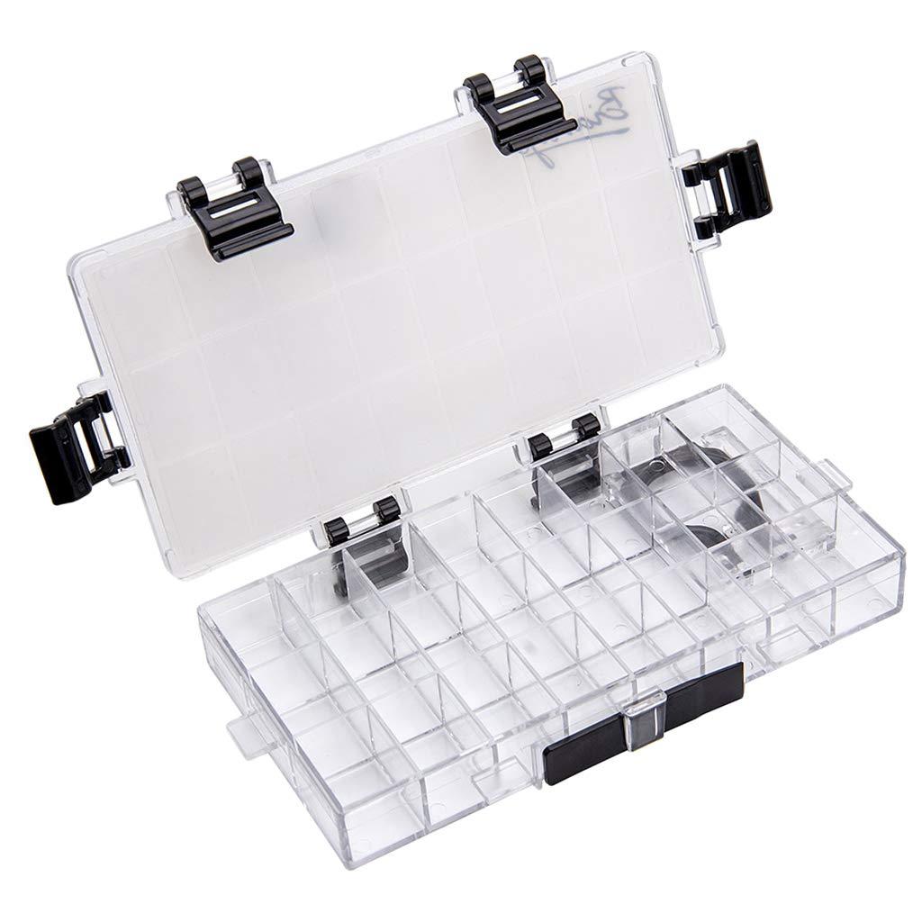 FLAMEER Palette Box 24 Wells Versiegelter Farbbeh/älter F/ür Aquarell-Acryl