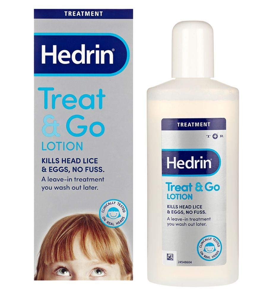 Hedrin Treat & Go Lotion 250ml - 6 Pack