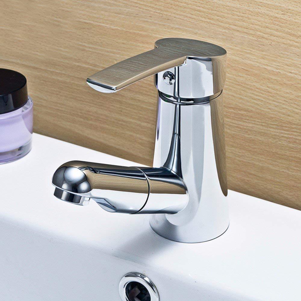 JingJingnet 洗面器用ミキサータップバスルームのシンクの蛇口洗面器用の蛇口 (Color : B) B07SMXFNYQ B