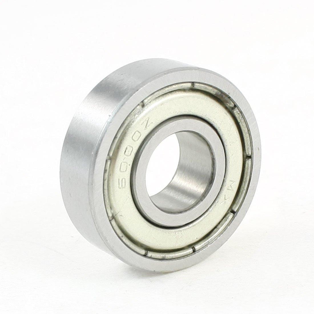 10 mm/26/8 mm, con cuscinetto a sfere sigillato Deep 6000Z Groove Sourcingmap A13110600UX0462