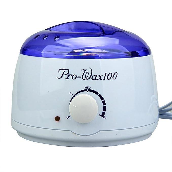 yiwula Depilación Limpieza de puf de cera caliente depilatoria calentador calentador Pot Set: Amazon.es: Hogar