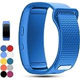 iFeeker, cinturino di ricambio per Samsung Gear Fit2 PRO e Fit 2 SM-R360, cinturino da polso sportivo in morbido silicone per smartwatch Samsung Gear Fit2 Pro e Fit 2 SM-R360