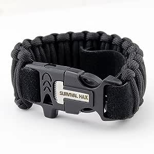Survival Paracord Bracelet 2 Pack
