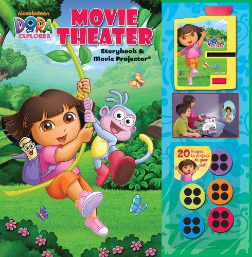 - Dora the Explorer Movie Theater Storybook & Movie Projector