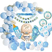 Yansion Baby Shower Decorations, Baby Shower Party Balloons Set-Mommy to Be Sash, Baby Shower Banners, Baby Foil Balloon…