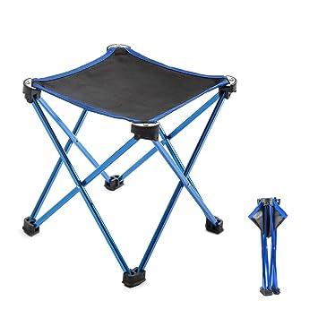 Pliant Loisirs De Portable Pêche Overmont Chaise Carré Camping taille25x25x28cm Seat Banc Équipement 0nN8vwmO