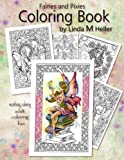 img - for Fairies and Pixies Coloring Book: Soothing, Calming, adult coloring fun book / textbook / text book
