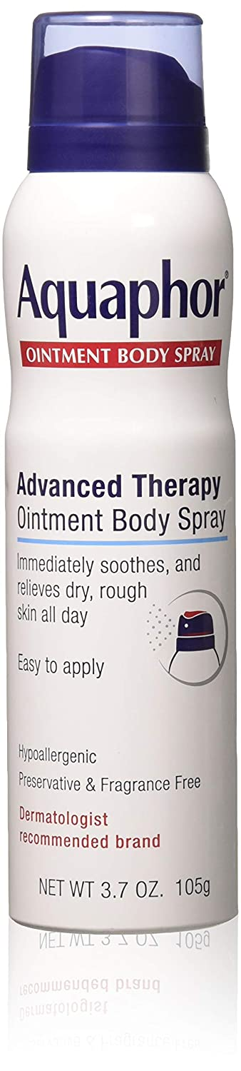 Aquaphor Ointment Body Spray 3.7 Ounce (109ml) (2 Pack)