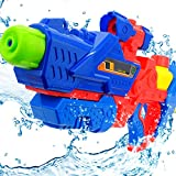 Pannow 1100 Large Capacity Water Gun Pistol, 33ft Long Range High Pressure Squirt Gun Toys for Kids and Adults Party Outdoor Water Fun