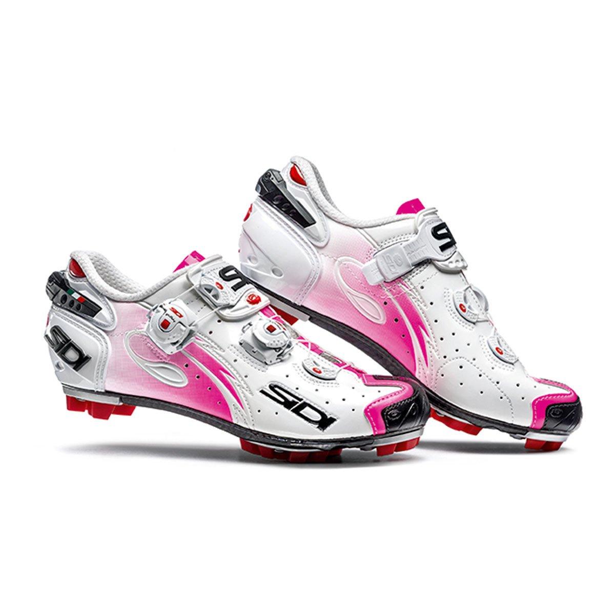 Sidi メンズ SMS-DRW-BKLB-39 B01CF4L9ZS 39 EU|White/Pink Fluo White/Pink Fluo 39 EU