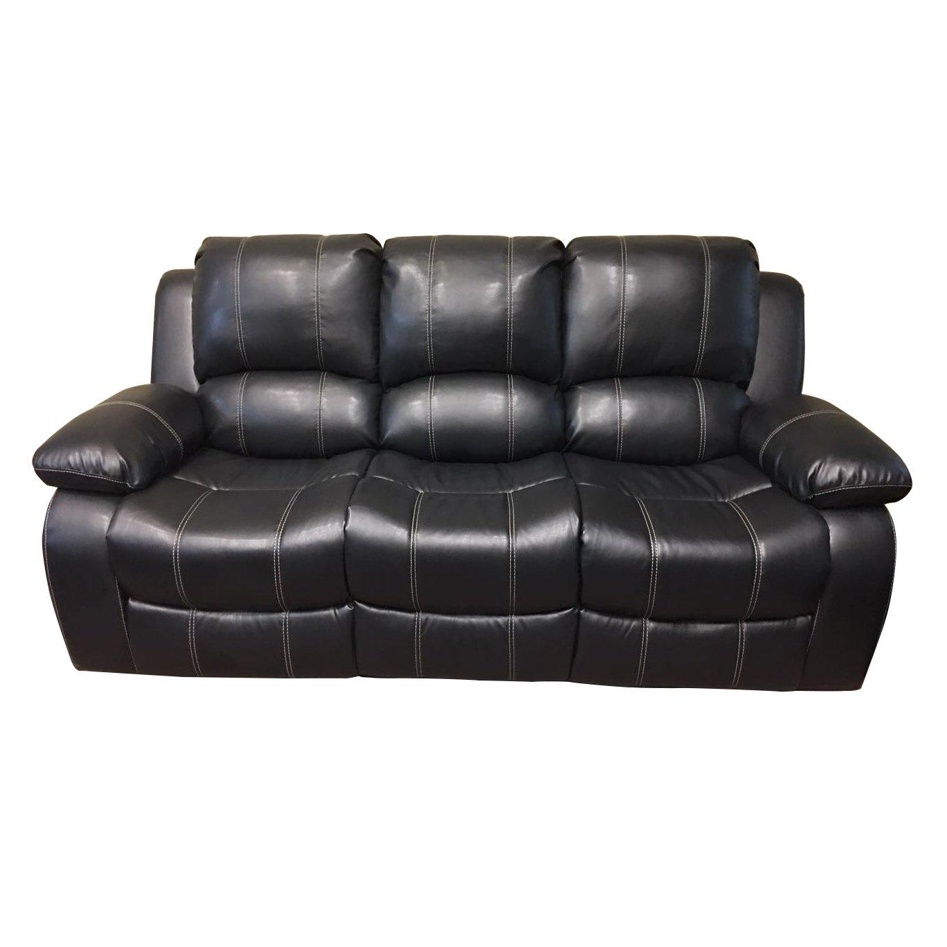 Amazon.com: Coja por sofa4life lilbum sofá de piel sintética ...