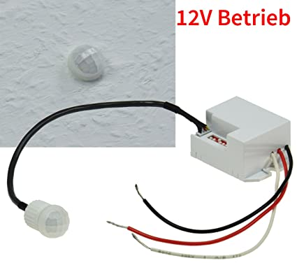 "Detector de movimiento empotrable ""ct de PIR Mini 12 V, 12 V"