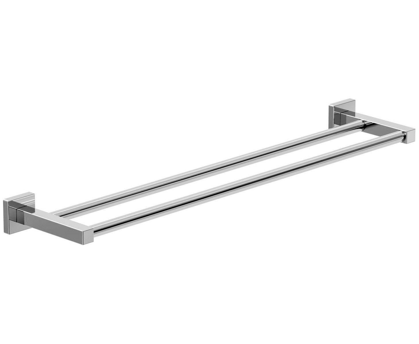 Symmons 363DTB-18 Duro Double Towel Bar, 18-Inch, Chrome Symmons [並行輸入品] B00KRH8LFW