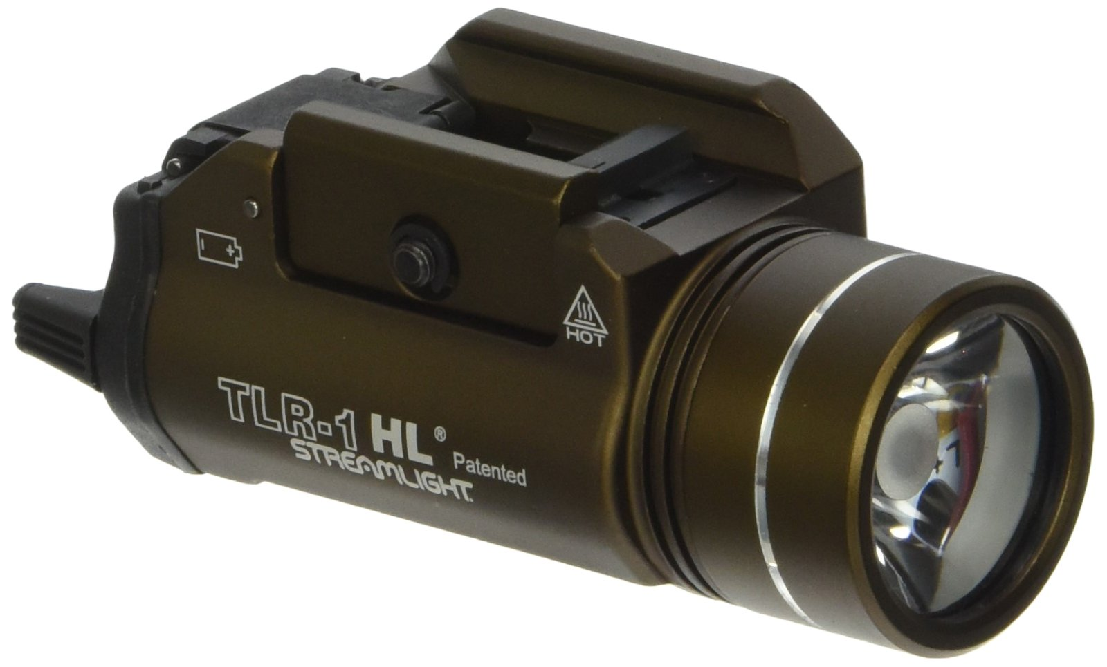 Streamlight 69267 TLR-1-HL High Lumen Rail-Mounted Tactical Light, Flat Dark Earth Brown by Streamlight