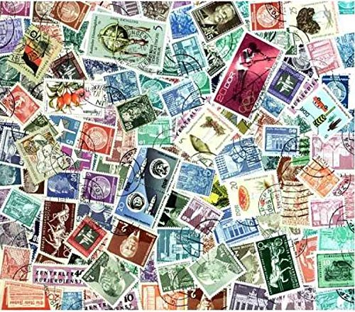 East Germany Stamp Collection - 200 Different Stamps