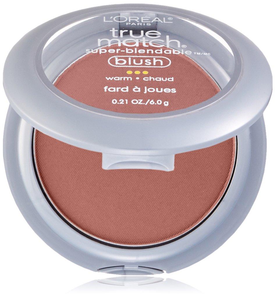 L'Oreal True Match Super-Blendable Blush, Warm, Subtle Sable, 0.21 oz