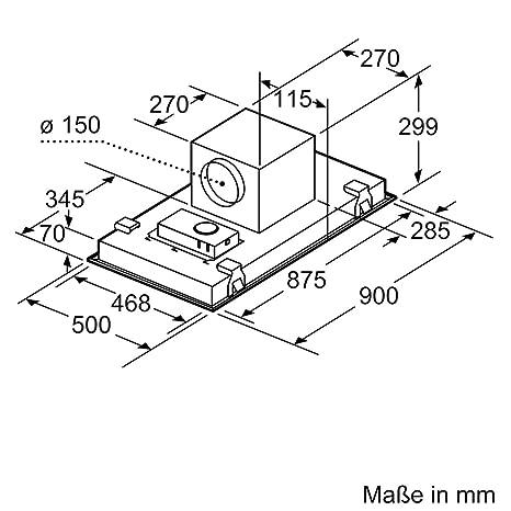 Neff ICM9967N (I99CM67N0) / Deckenlüfter / 90cm / Edelstahl ...