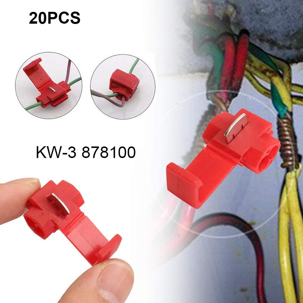 5-100 Junction Terminal Connector Power Thief Yellow 4-6 mm² Fast Cable Connector
