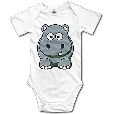 Amazoncojp リナ 赤ちゃん服 可愛い 漫画 コビトカバ イラスト 半袖