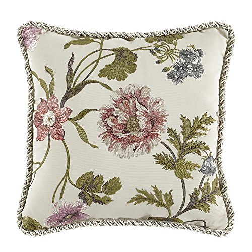 Croscill 2AP-590O0-1442/990 Daphne Square Pillow Throw Pillow by Croscill
