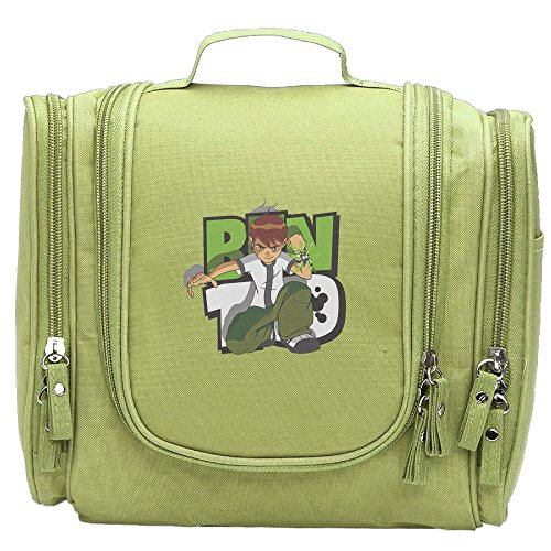 Women Ben 10 Casual Cosmetic Makeup Backpack KellyGreen