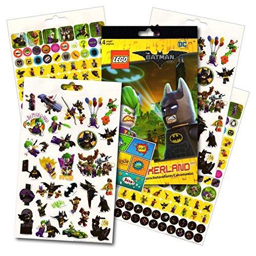 - Lego Batman Stickers - Over 295 Stickers Bundled with Specialty Separately Licensed GWW Reward Sticker