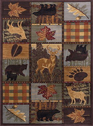 United Weavers of America Dallas Baroness Rug, 8 x 10 , Plum