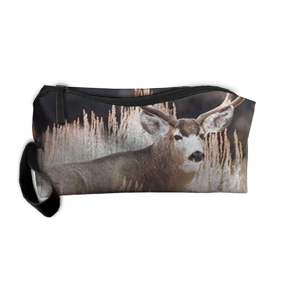 2eb8ca53ac62 70%OFF Huadduo Large Mule Deer Big Antler Rack Animal Travel Bag ...