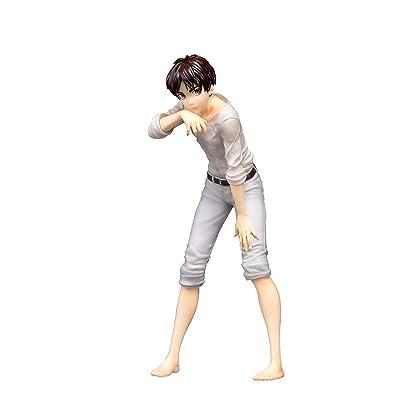 Apricot Blossom Attack On Titan: Eren Yeager 1: 8 Scale Pmma & Pu PVC Figure, Multicolor: Toys & Games