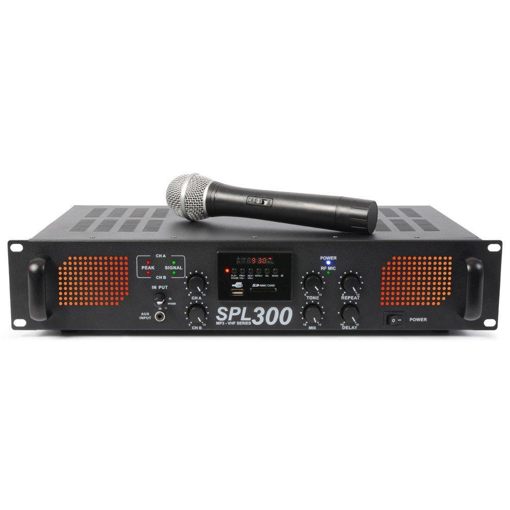Skytec SPL 300VHFMP3 2.0canali Casa Cablato Bianco amplificatore audio 175.560