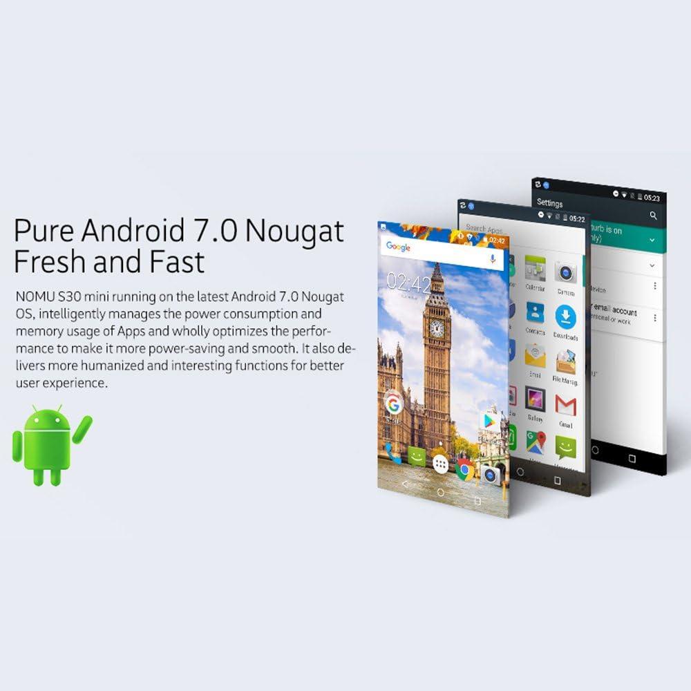 NOMU S30 Mini Smartphone IP68 Impermeable MTK6737T 1,5GHz Quad ...