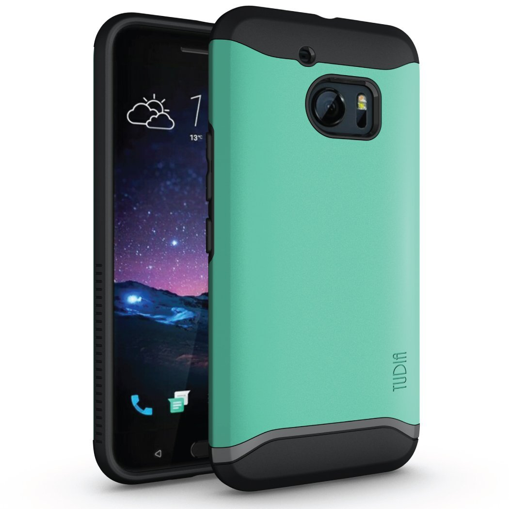 HTC 10 Case, TUDIA Slim-Fit Merge Dual Layer Protective Case for HTC 10 (HTC One M10) (Mint)