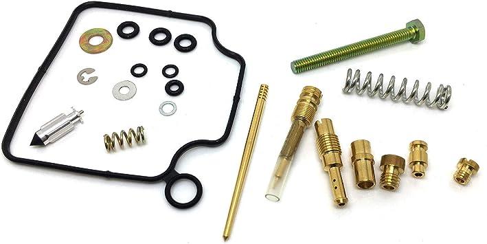Honda Quality Carburetor Rebuild Carb Repair Kit TRX 300 FW Fourtrax 1991-1992