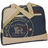 Elephant® 3503 Sacoche/Sac/Messenger/marine/A4//Soft Nylon//2 couleurs
