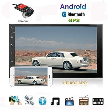 Amazon.com: Android 2 Din coche navegación estéreo ...