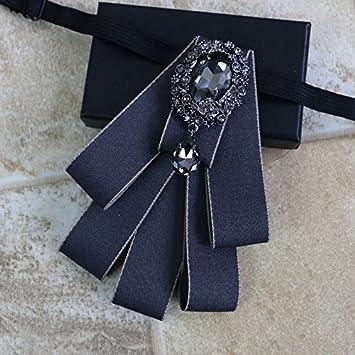 ZLYAYA,corbata,pajarita,Los hombres de diamantes collar de ...