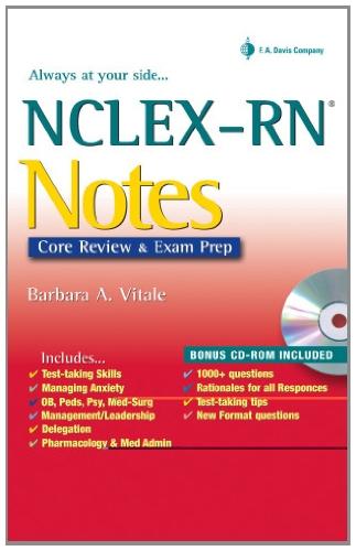 NCLEX-RN Notes (Davis's Notes)