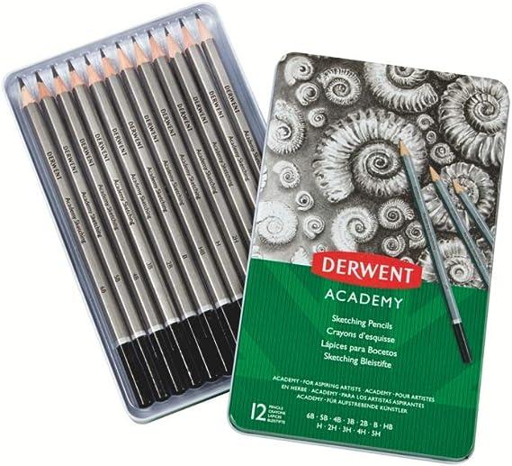 Derwent Academy 12 SKETCHING Pencils