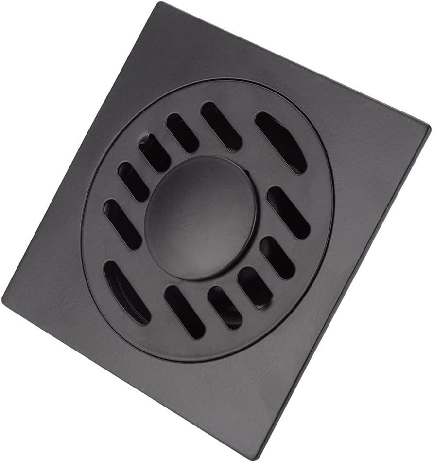 D/ésodorisant Siphon de Sol Anti-rayures Asixx Drain de Douche Drain de Plancher Carr/é en Acier Inoxydable Caniveau de Douche pour Salle de Bain ou Cuisine Siphon de sol pour lave-linge R/ésistant /à la Corrosion