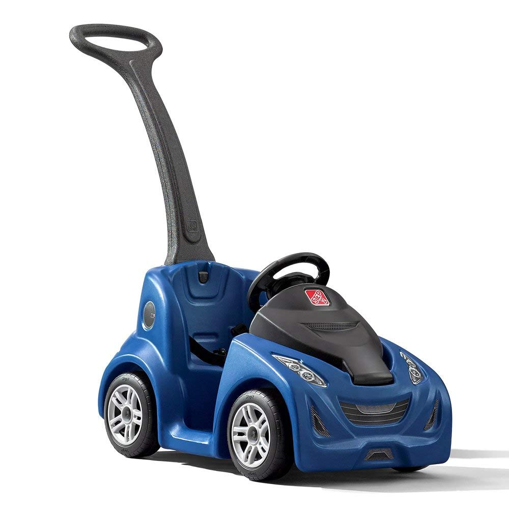 Step2 Push Around Buggy GT Push Car, Blue (Renewed)