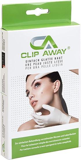 CLIP AWAY Eliminador de verrugas y lunares sin hielo y sin ácidos ...