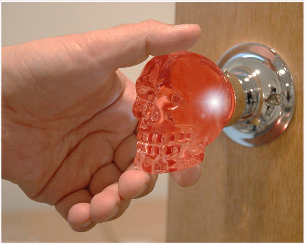 Krystal Touch of New York 3733BPA Skull Passive Doorknob 25Inch