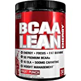 Evlution Nutrition BCAA Lean Energy - High Performance, Energizing Amino Acid Supplement for Muscle Building, Recovery, and Endurance, 30 Servings (Fruit Punch)