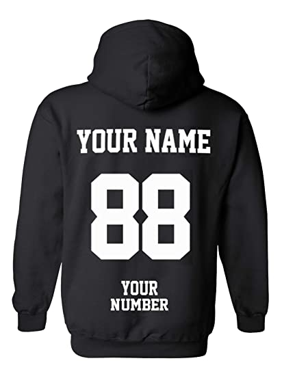 a7272d2aee60a Design Your OWN Hoodie - Custom Jersey Hoodies - Pullover Team Sweatshirts