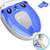 Portable Potty Seat for Toddler Travel, Folding Large Non-Slip Silicone Pads Travel Potty Seat for Toddler, Recyclable…